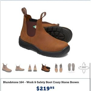 Blundstones sz 10 US boots (7 aus)